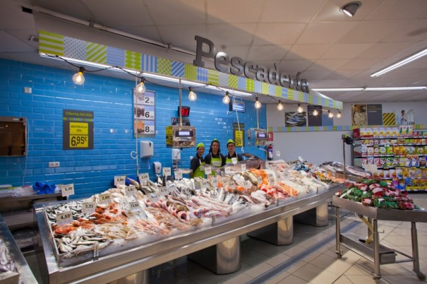 New style for Fishmongers at DIA stores. Source DIA