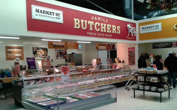 Market Street, displaying all the fresh expertise at Morrisons Stores.