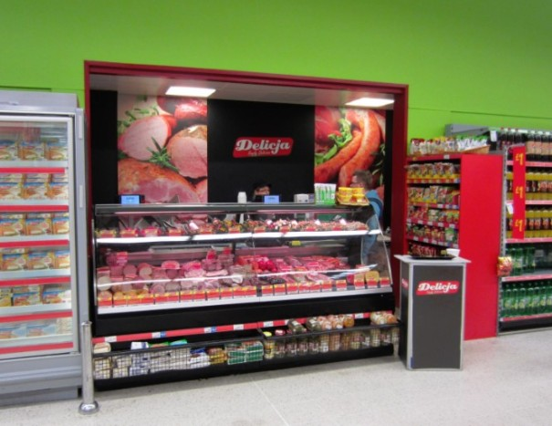 Asda features in some of their stores Polish Delicatessen.