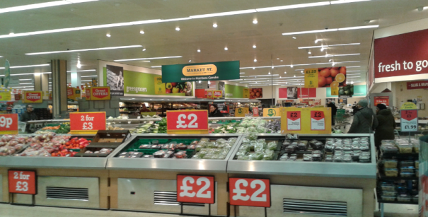 Morrisons is the British retailer trying harder to excel in fresh products.