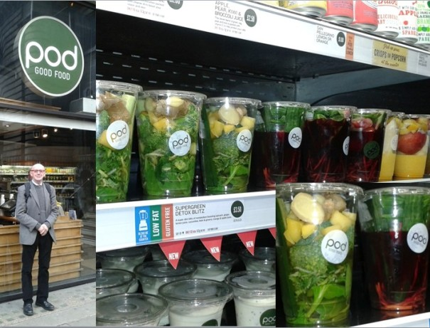 Foodservice Operators are also targeting the market, thanks to the freshness and on the go benefits they offer to consumers.