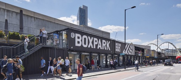 Boxpark offers entertainment, retail and foodservice under the same roof Source Boxpark