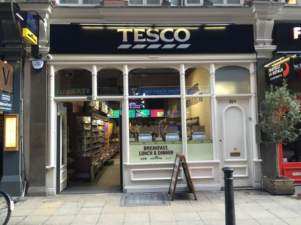 Tesco has more than 1,700 Express stores throughout United Kingdom