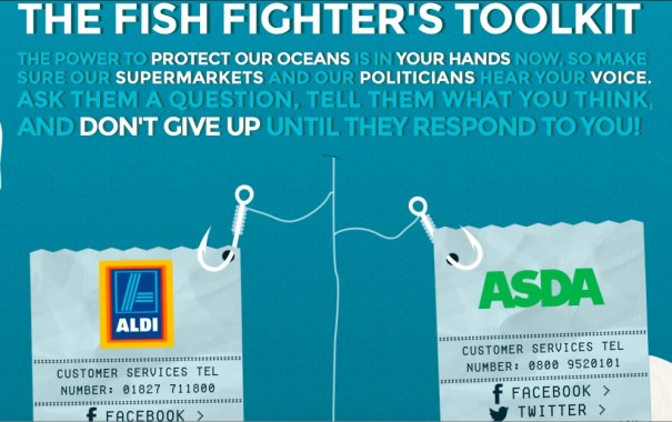 Hugh Fearnley-Whittingstall provides shoppers with The Fish fight toolkit, for them to know what they are buying.
