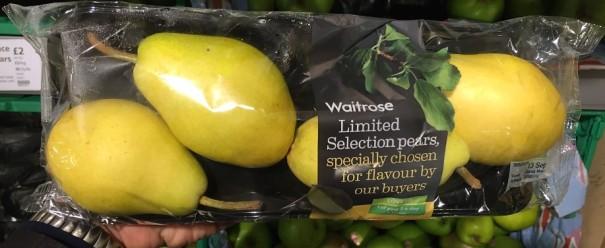 Waitrose Pears 01