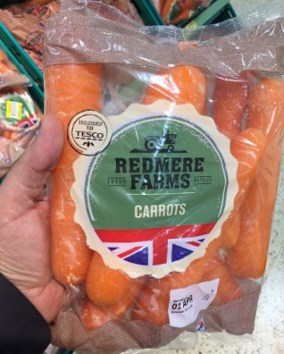 Tesco - Carrot Redmere Farms